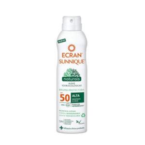 Bruma Solar Protetora Sunnique Naturals Ecran Spf 50 (250 ml)