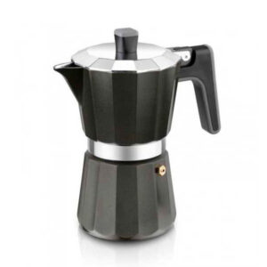 Cafeteira Italiana Black Edition BRA 9 Chávenas