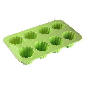 Formas de Silicone para Cupcakes Cannelés Silicone (17 x 5 x 29 cm) (8 uds)