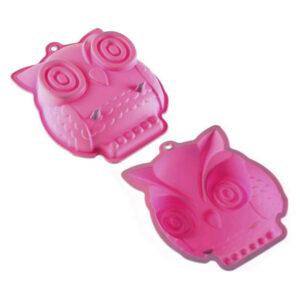 Formas de Silicone para Cupcakes Coruja
