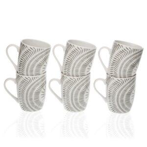 Conjunto de 6 Chávenas Neera Porcelana