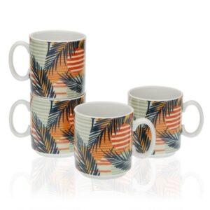 Conjunto de 4 Chávenas Saona Porcelana (4 Peças)