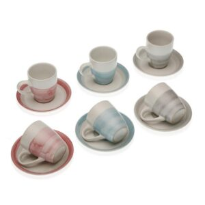 Conjunto de 6 Chávenas de Café Rachel Grés