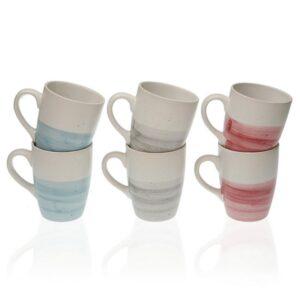 Conjunto de 5 Chávenas Rachel Grés