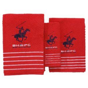 Jogo de 3 toalhas Beverly Hills Polo Club