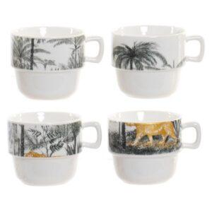 Conjunto de 4 Chávenas de Café Dekodonia Selva (200 ml)