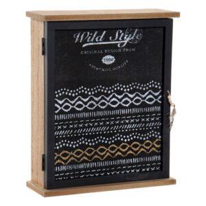 Armário para chaves Dekodonia Wild Style Cristal (22 x 7 x 26 cm)