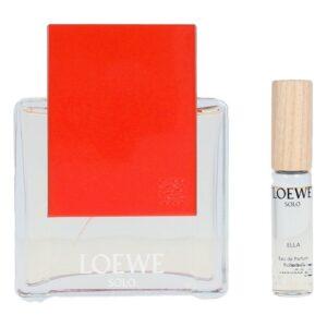 Conjunto de Perfume Mulher Solo Ella Loewe EDT (2 pcs)