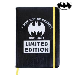 Caderno com marcador de página Batman A5 Preto