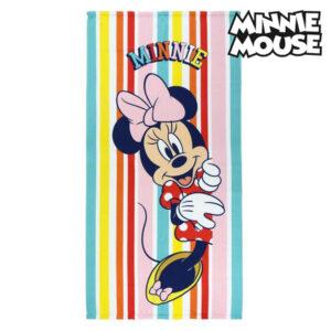 Toalha de Praia Minnie Mouse 75686 Microfibra Multicolor