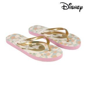 Chinelos para Mulher Princesses Disney 74434 Bege Dourado 40