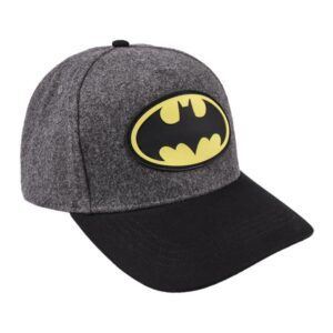 Boné Batman Preto Cinzento (58 cm)