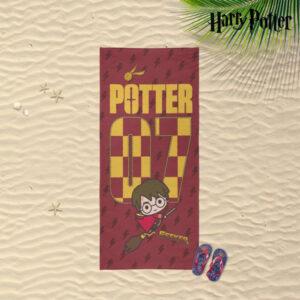 Toalha de Praia Harry Potter Vermelho (70 x 140 cm)