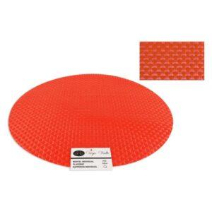 Individuais PVC Redondo (38 cm) Laranja