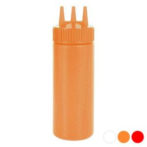Dosificador Triplo para Molhos (Ø 8 cm) Vermelho