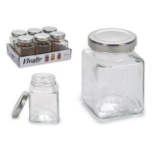 Frasco de Vidro Vivalto Com tampa 100 ml