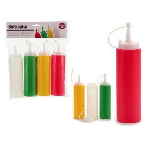 Frasco para Molhos 250 ml (4 pcs)