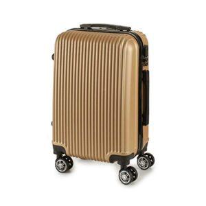 Mala de Cabine ABS (22 x 57 x 37,5 cm) Dourado