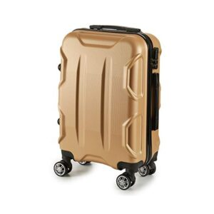 Mala de Cabine ABS (24 x 57 x 38 cm) Dourado
