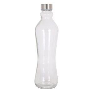 Garrafa de Vidro Bujão metálico 1 L