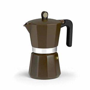Cafeteira Italiana Monix NEW CREAM 6 Chávenas