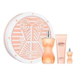 Conjunto de Perfume Mulher Classique Jean Paul Gaultier EDT (3 pcs)