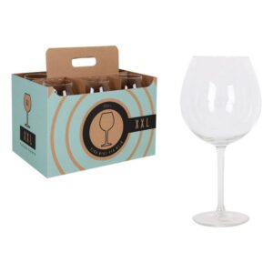 Pack 6 Copos para vinho Royal Leerdam XXL Cristal (72 cl)