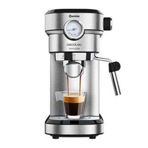 Máquina de Café Expresso Manual Cecotec Cafelizzia 790 Steel 1350W Aço inoxidável - VEJA O VIDEO