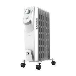 Radiador de Óleo (7 corpos) Cecotec Ready Warm 5750 Space 360º 1500W Branco
