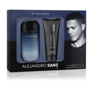 Conjunto de Perfume Homem Mi Acorde Alejandro Sanz EDT (2 pcs)