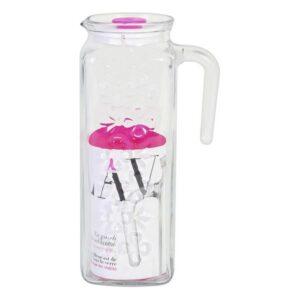 Jarro de Vidro Transparente LAV Bloom (1200 ml)
