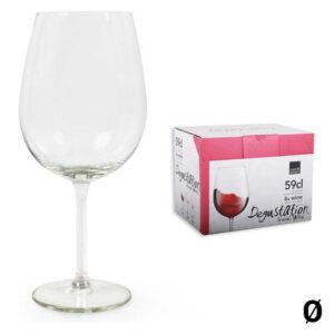 Pack 6 Copos para vinho Royal Leerdam Degustation 450 ml