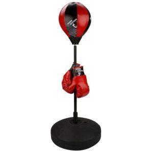 Avento conjunto juniores saco de boxe, preto/vermelho 41BE - PORTES GRÁTIS