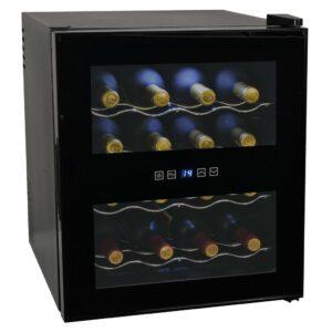 Frigorífico para vinhos 48 L 16 garrafas ecrã LCD - PORTES GRÁTIS