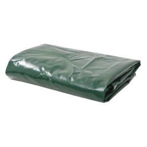 Lona 650 g/m² 4x8 m verde - PORTES GRÁTIS