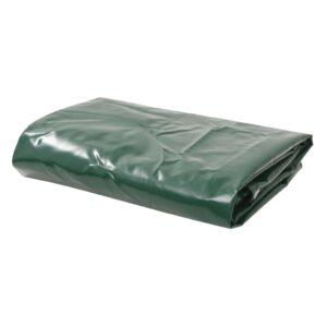 Lona 650 g/m² 5x6 m verde - PORTES GRÁTIS