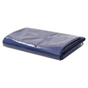 Lona 650 g/m² 2,5x3,5 m azul - PORTES GRÁTIS
