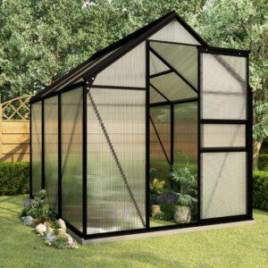 Estufa com base alumínio antracite 3,61 m² - PORTES GRÁTIS