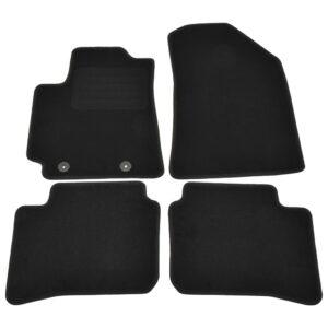 4 pcs conjunto tapetes automóveis para Hyundai I10 Hybrid - PORTES GRÁTIS