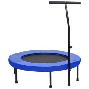 Trampolim com pega e almofada de segurança 102 cm - PORTES GRÁTIS
