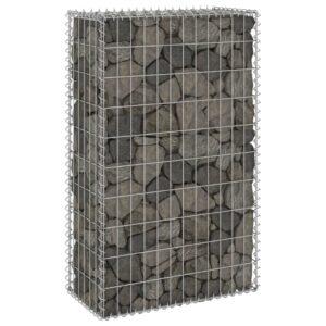 Muro gabião com tampas aço galvanizado 60x30x100 cm - PORTES GRÁTIS