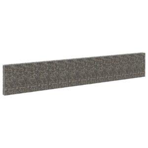 Muro gabião com tampas aço galvanizado 900x30x150 cm - PORTES GRÁTIS