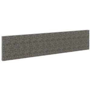 Muro gabião com tampas aço galvanizado 900x30x200 cm - PORTES GRÁTIS