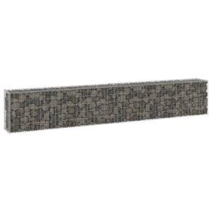 Muro gabião com tampas aço galvanizado 300x30x50 cm - PORTES GRÁTIS