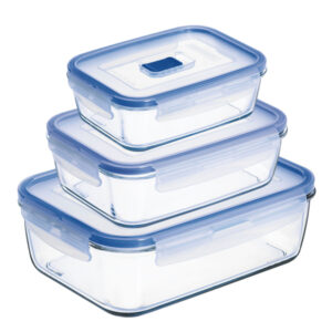 Conjunto de Lancheiras Luminarc Pure Box Active (3 pcs)