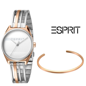 Esprit® Conjunto Relógio + Pulseira ES1L059M0055
