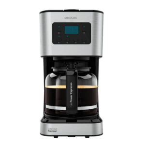 Máquina de Café de Filtro Cecotec Route Coffee 66 Smart 950 W 1,5 L Prateado Preto (12 Kopjes)