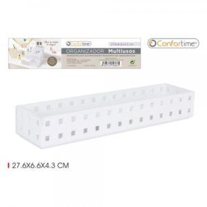 Organizador Confortime Multiusos 14 x 7 x 4,3 cm