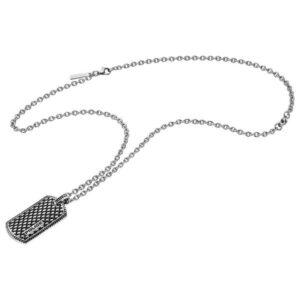Colar Police® S14AIE0 (70 cm) Prateado