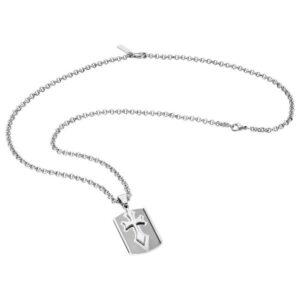 Colar Police® S14BG0 (70 cm) Cinzento